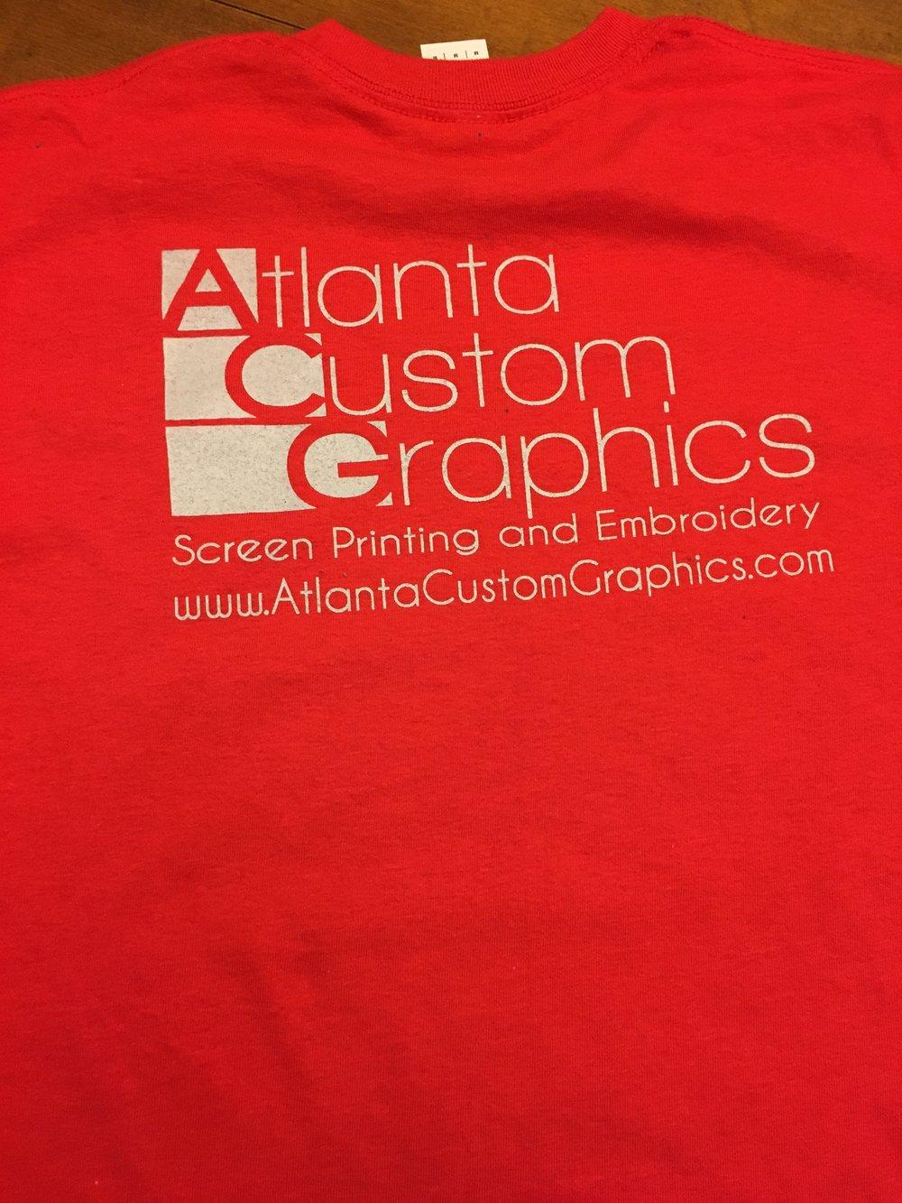 T Shirt Screen Printing Atlanta Joe Maloy