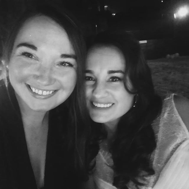 I got to watch this friend get married tonight. 20 years of friendship. 2 teenagers at sleepaway camp becoming sisters.  We made up fake last names to prove our sisterhood to our campers once we became cocos (co-counselors). We wrangled up to 16 9-10 year olds together. To all of their activities, meals, through showers, and then bed time devotions - talking about all the things that mattered to little hearts.  Since then - we've tackled adventures, climbing, hiking, school/work days (holla Starbucks), incredibly bad relationships, finding our adult selves and being able to stand up for our needs, becoming mamas. All while going through the ebb and flow of long distance friendship. Literally picking up where our 13 year selves would be proud of. #cherokeecabinforever