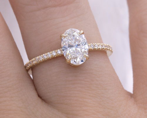 image s rings diamond oval jewellery is ring carat engagement cut in itm loading yellow gold solitaire