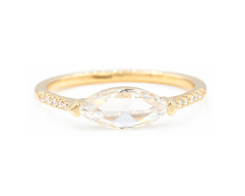 a engagement marquise ring in guaranteed pin flattering prices at marquee set solitaire bands the rose low rings cut with proposal diamond gold delicacy love