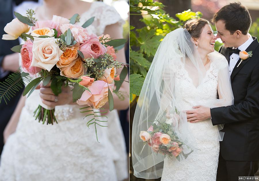 Museum of garden history wedding dress