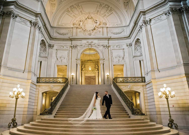 San Francisco City Hall Wedding Photographer 0025JPG