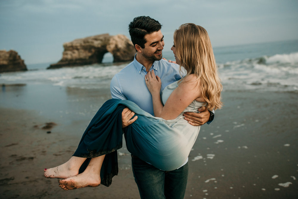 best bay area engagement photographer outdoors | san francisco lifestyle wedding photography bre thurston