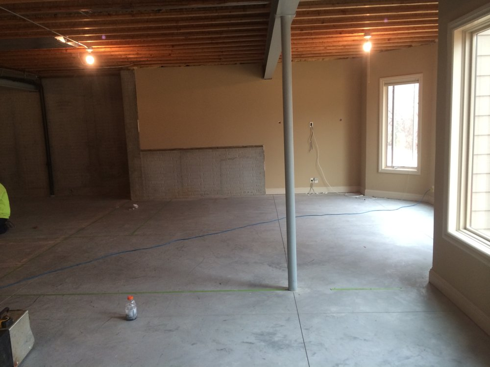 Before - Oh so many possibilities with this one....Lets build a work out room!