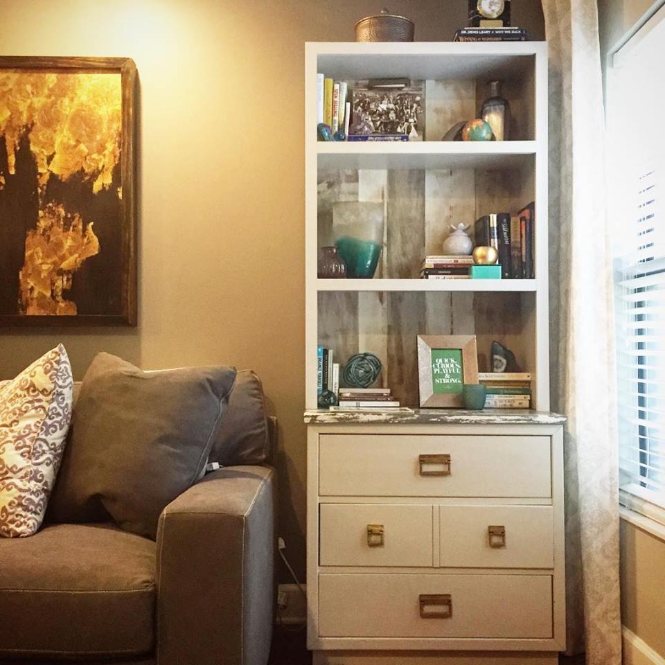 Vintage dresser gets a new life!