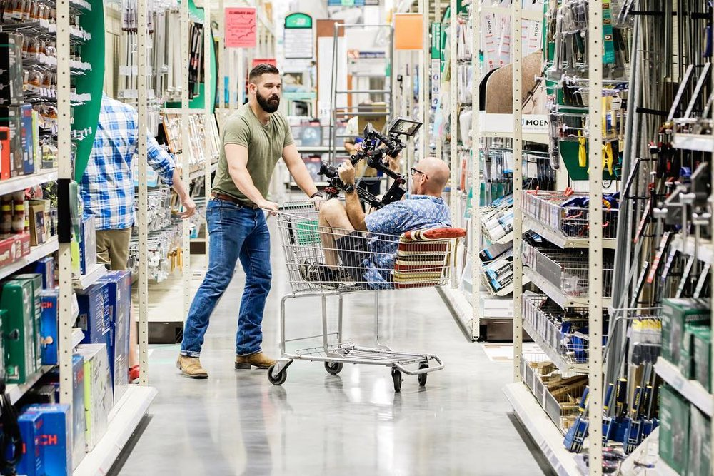 """Make it with Menards"" Shoot"