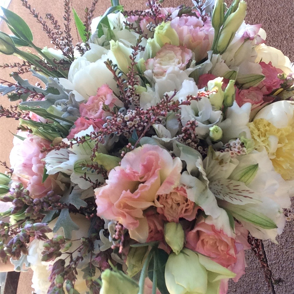 Bridal Bouquet, Pink Lisi:White Peony:Calcynia.jpeg