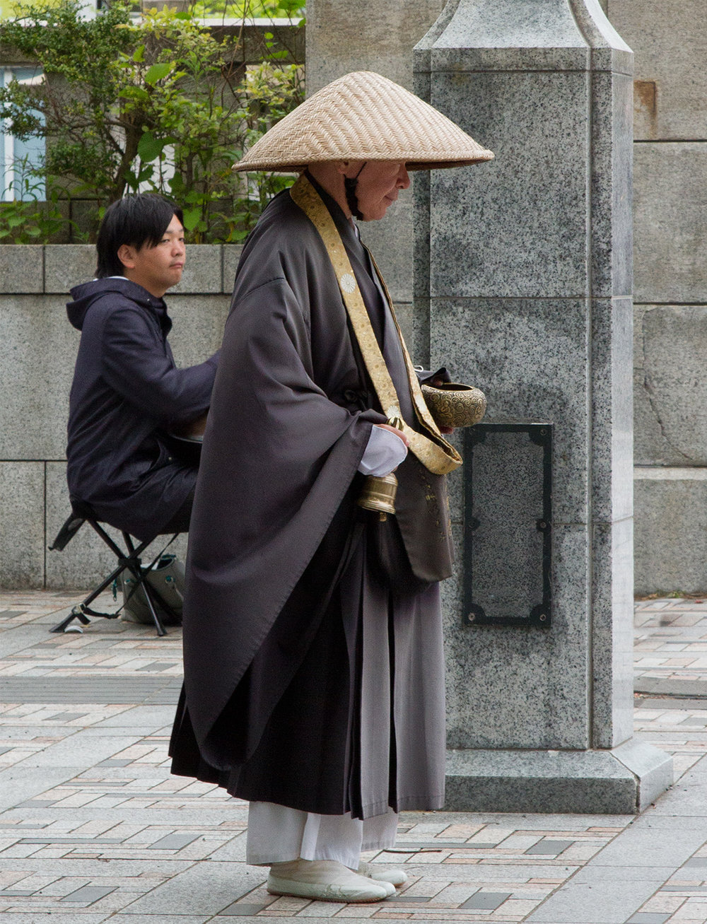 Monk, Begging