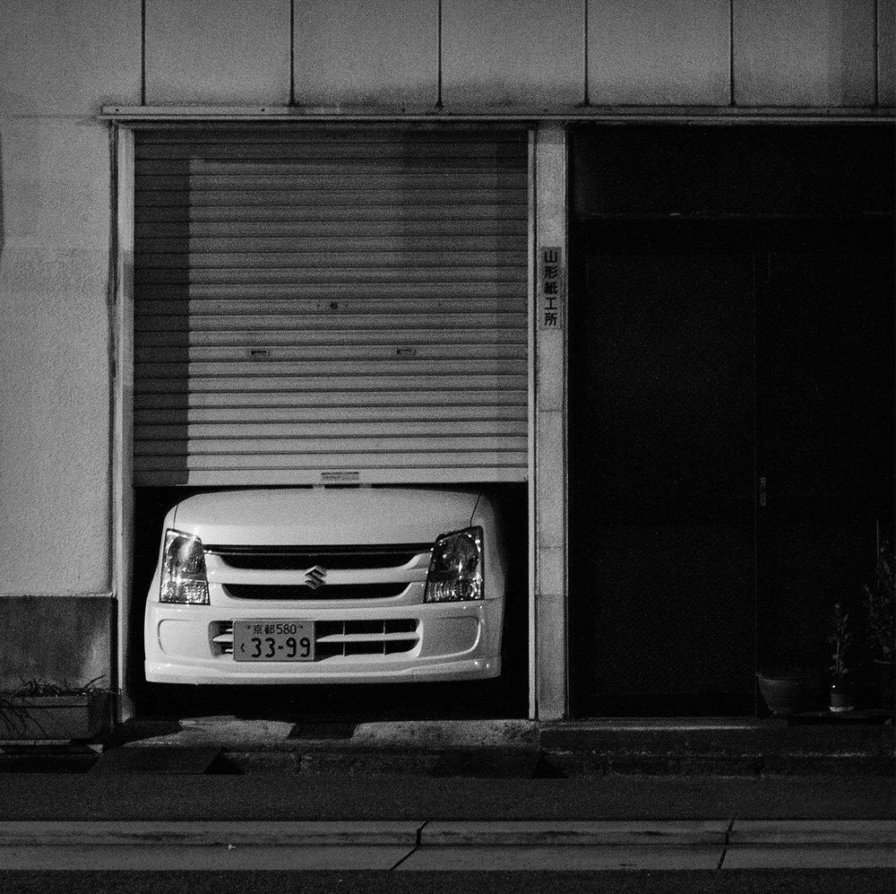 Boxed Car