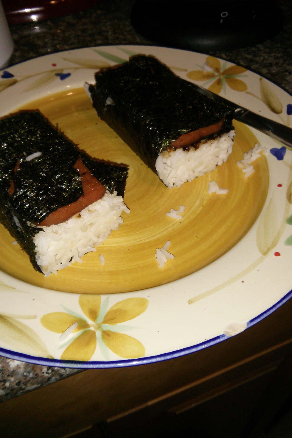 Made my own spam musubis