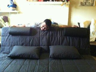 I finally had a bed
