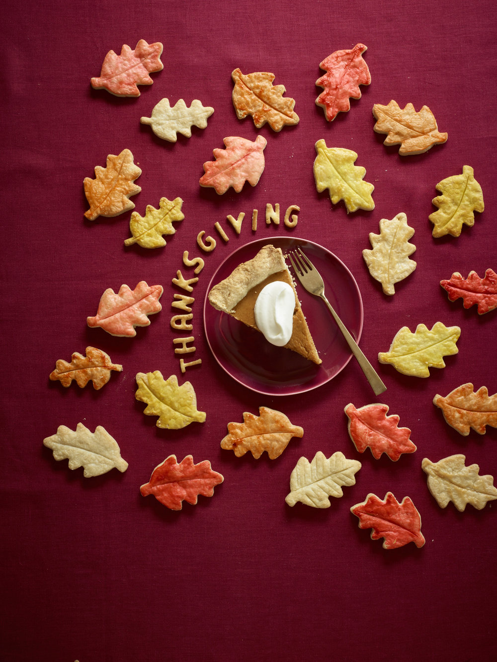 Sliced pumpkin pie & leaves.jpg