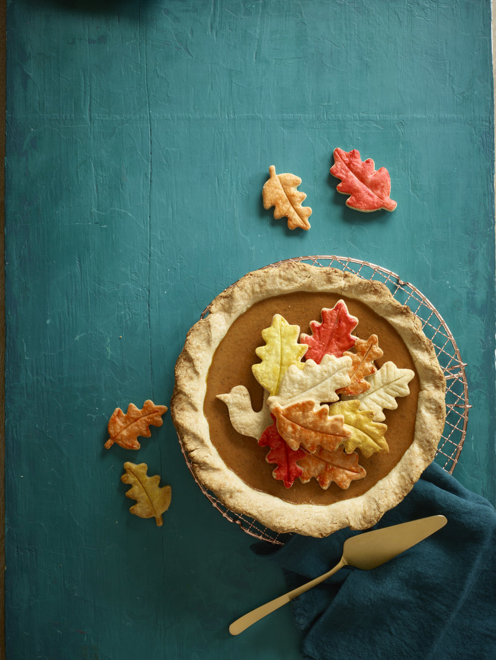 turkey pie on teal 1.jpg
