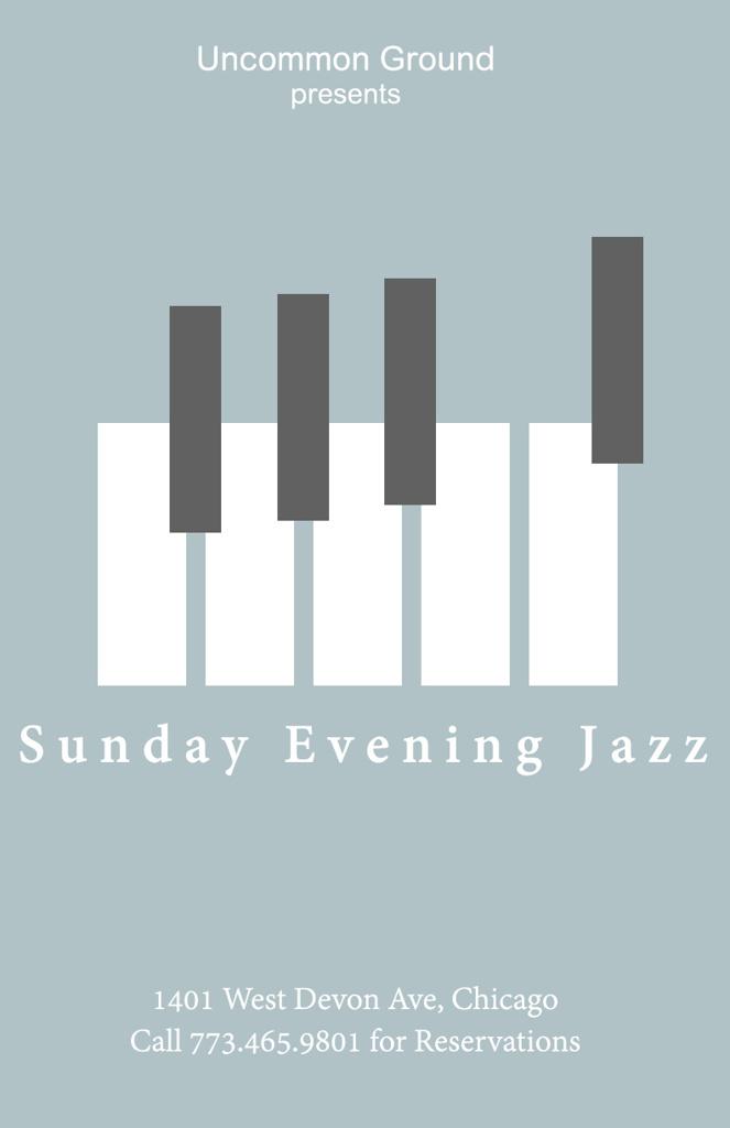 Uncommon Ground Jazz Night | Digital Ad