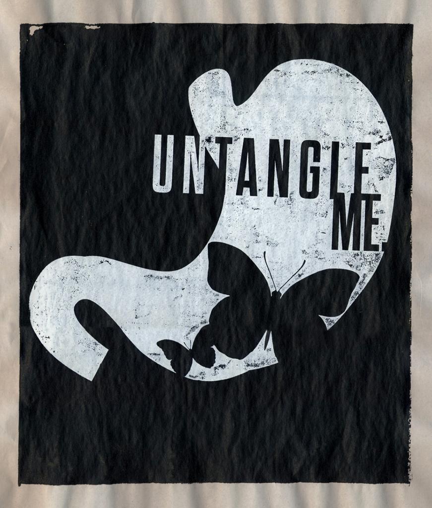 Untangle | Silk Screen on Newsprint