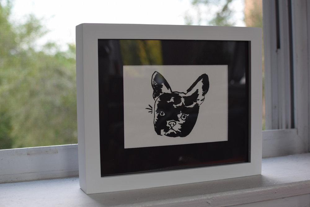 Frenchie | Silkscreen on Archival Paper