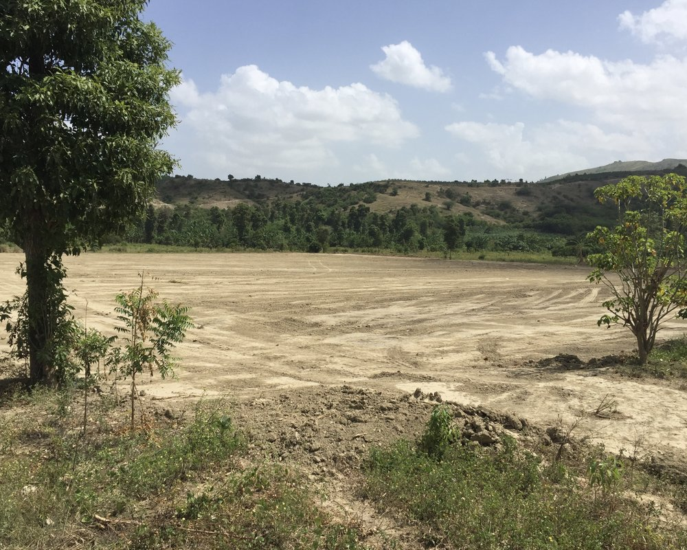 The Project Living Hope Soccer Pitch - Camp Marie, Haiti