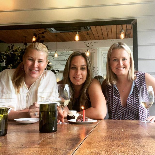 A beautiful lunch with two very beautiful ladies @sally_hawach @denisecameron_  Happy early Birthday D! 🥳🥳 #girltime #date #ladiesthatlunch #toprestaurants #birthdays @chiswickwoollahra