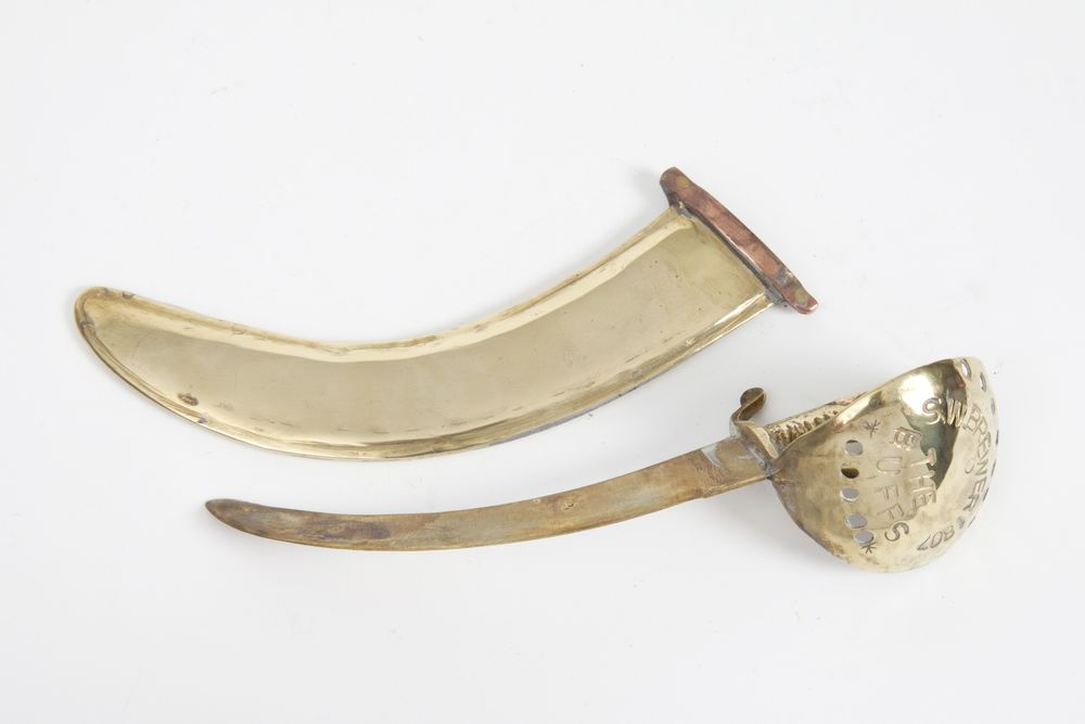 Brewer's scimitar and scabbard