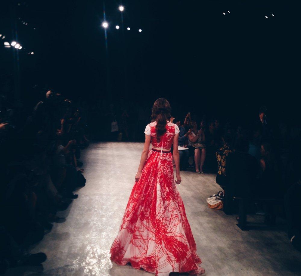 Luis Antonio - SS15 Fashion show (Aisle View)