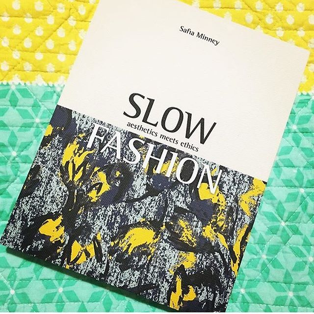 It's #fashionrevolution week, a time to reflect on the impact fast fashion has on our people and the planet 🌏 Interested in knowing more? We love Slow Fashion by @safia_minney the amazing woman behind ethical fashion company @peopletreeuk. A thought provoking read of how we can drive change. . . . #fashionrevolutionweek #whomademyclothes #ethicalfashion #ecobusiness #slowfashionbook #socialenterprise #socent #empowerwomen #safiaminney #socialchange