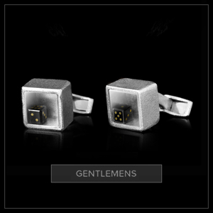 Gentlemens Black Dice Cufflinks.jpg