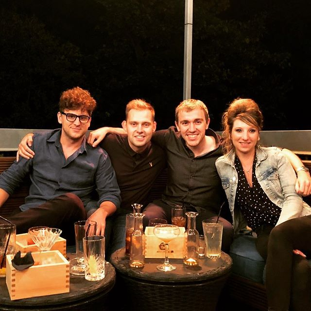 Night out with the guys!  #nightout #friends #chilling #cocktails