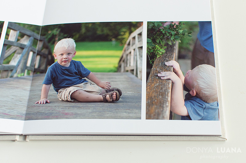 Storybook Album for Family Photography Session | Donya Luana
