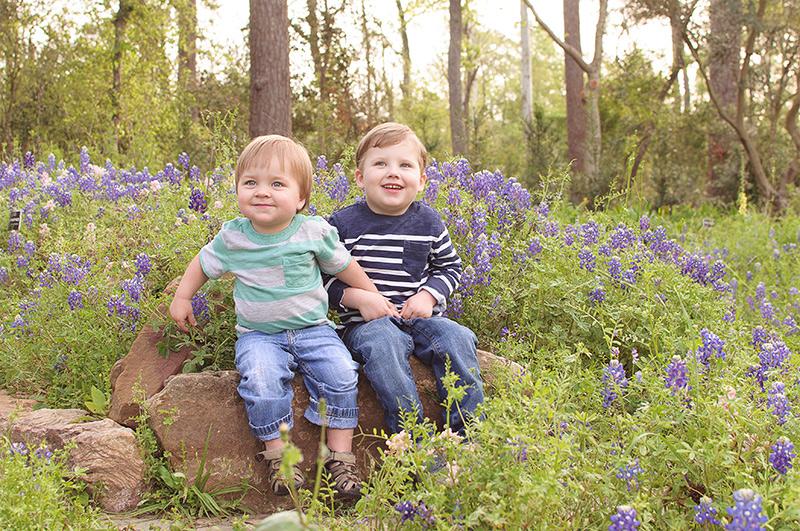 Bluebonnet photos in northwest Houston