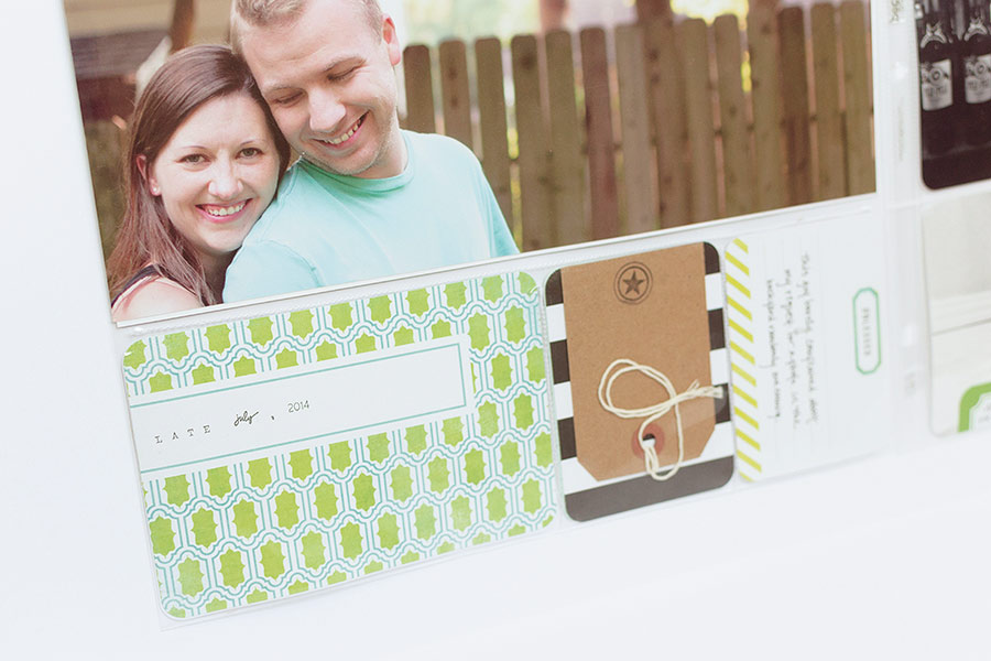 Project Life using the Heidi Swapp Favorite Things kit.