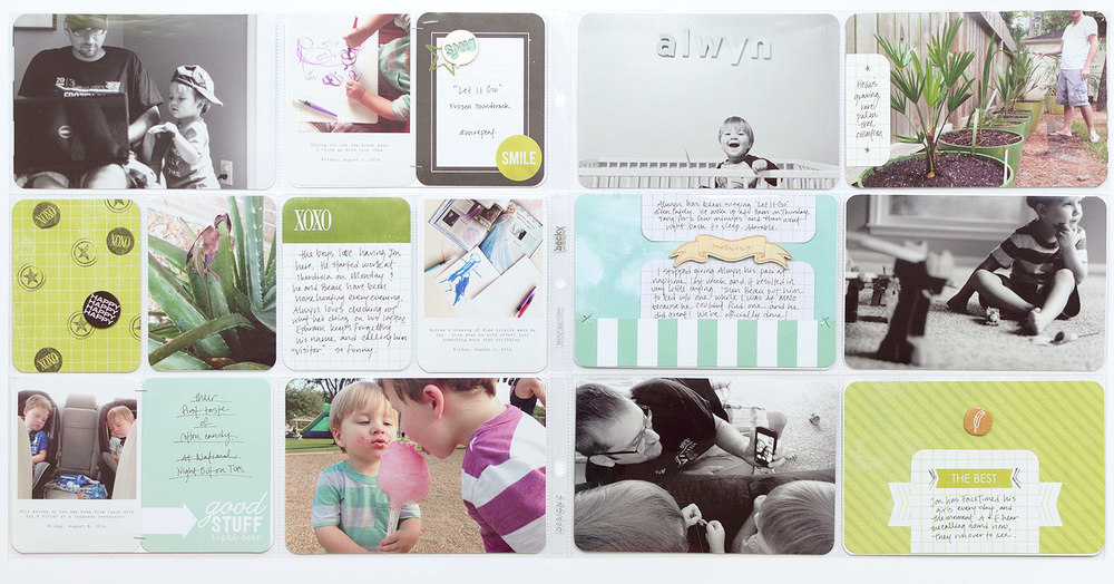 Project Life Idea: Keep a journal to remind you of stories without corresponding photos.