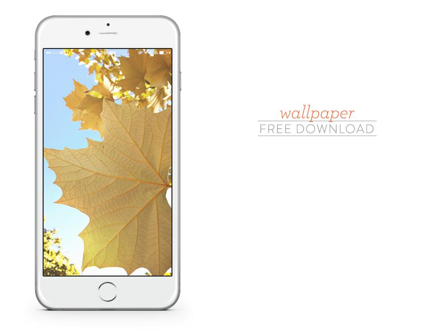 October iPhone Wallpaper