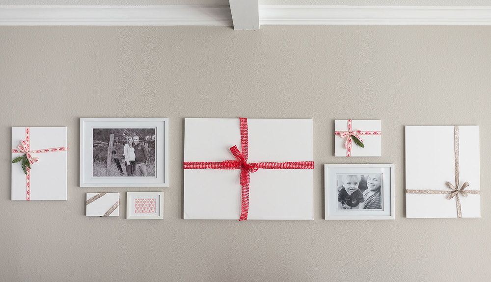 Easy Holiday Wall Gallery