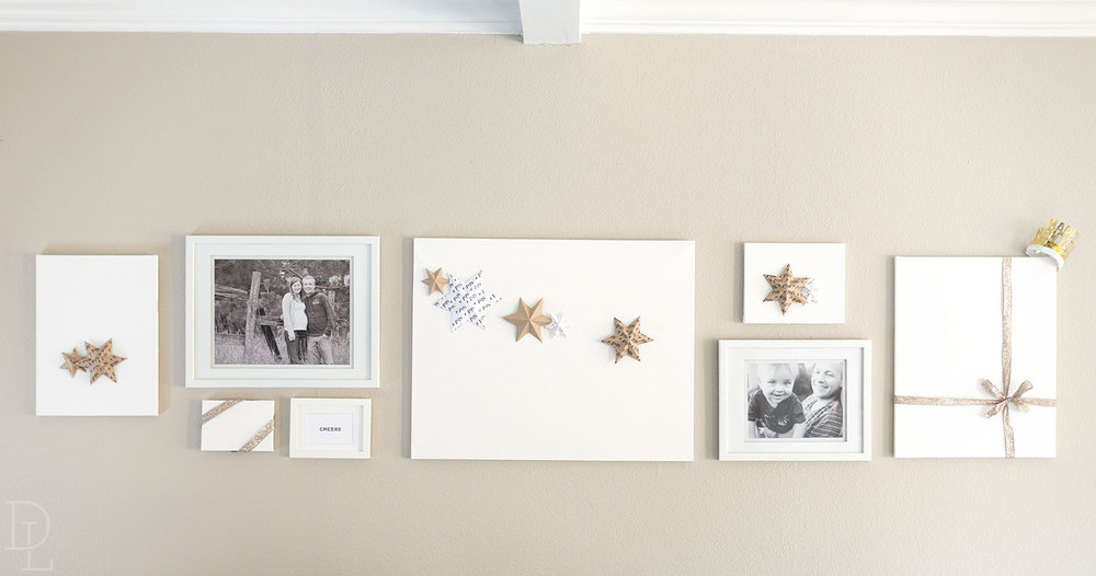 Changeable Wall Gallery for the Holidays