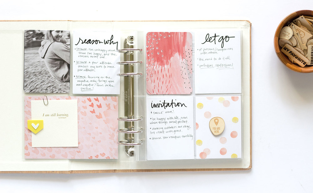One Little Word 2015 Album Journal