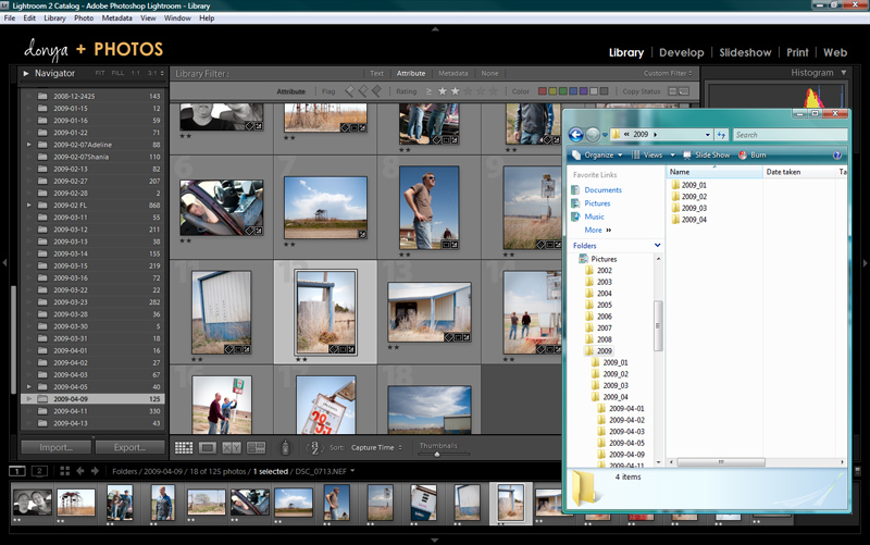 Lightroom Organized