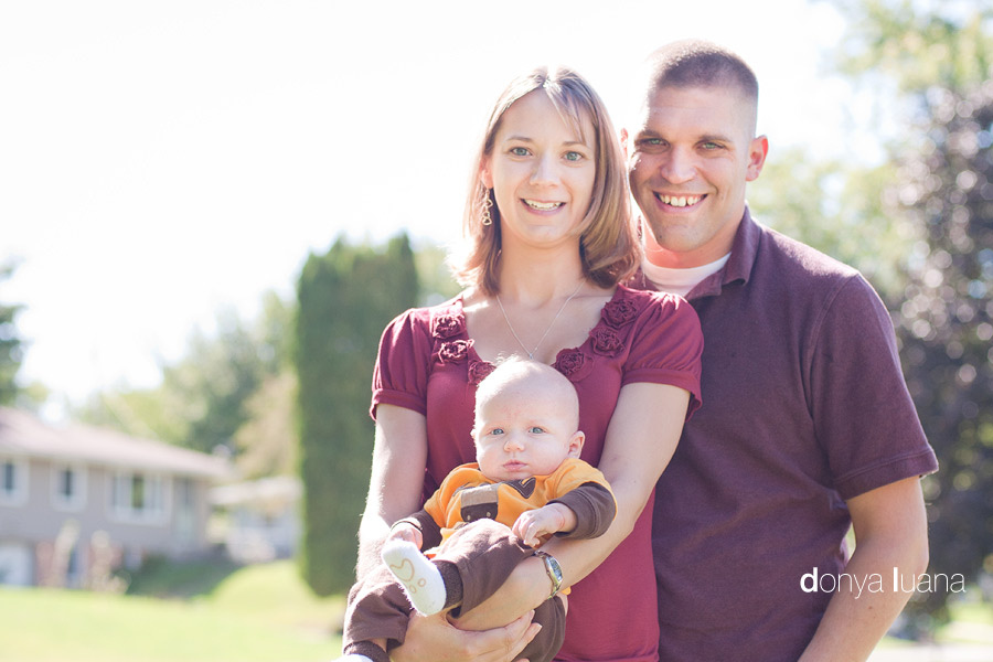 Burnsville Family with Baby Boy Pose for photos