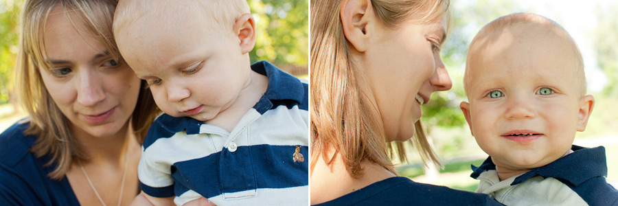 Burnsville Mom and Son Portraits at Twin Cities Park