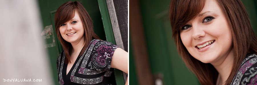 Fun senior photos with a high school student from Lakeville