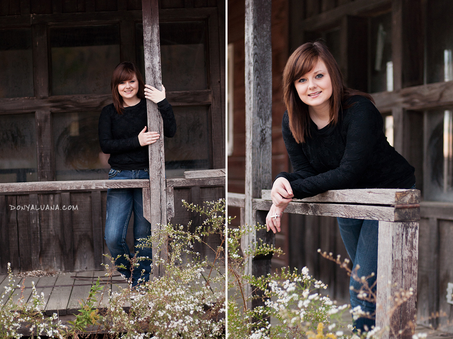 Urban setting for Northfield high school senior portraits