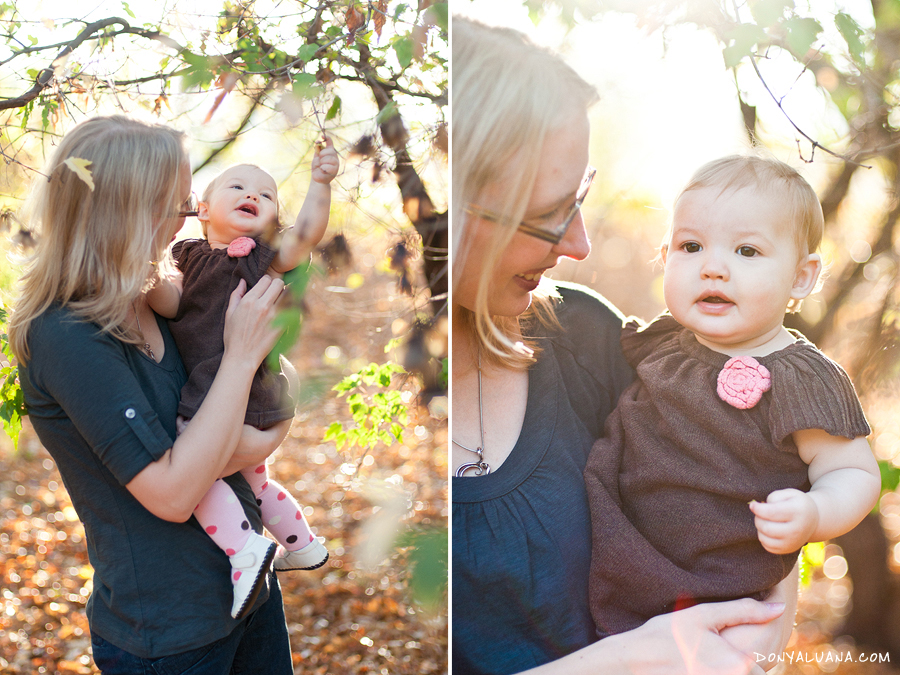 lovely mother and daughter portraits taken in backyard of Tomball home