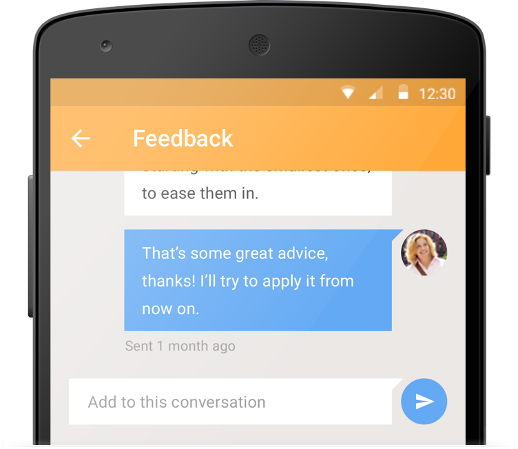 candid peer feedback in real-time