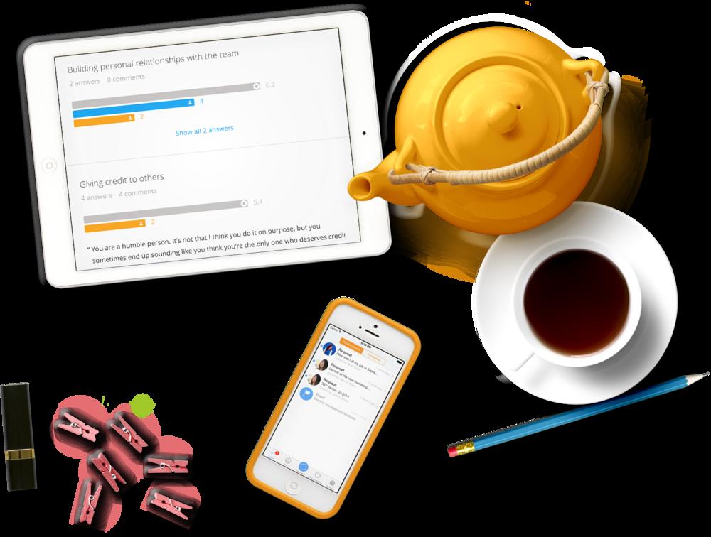 impraise mobile feedback software