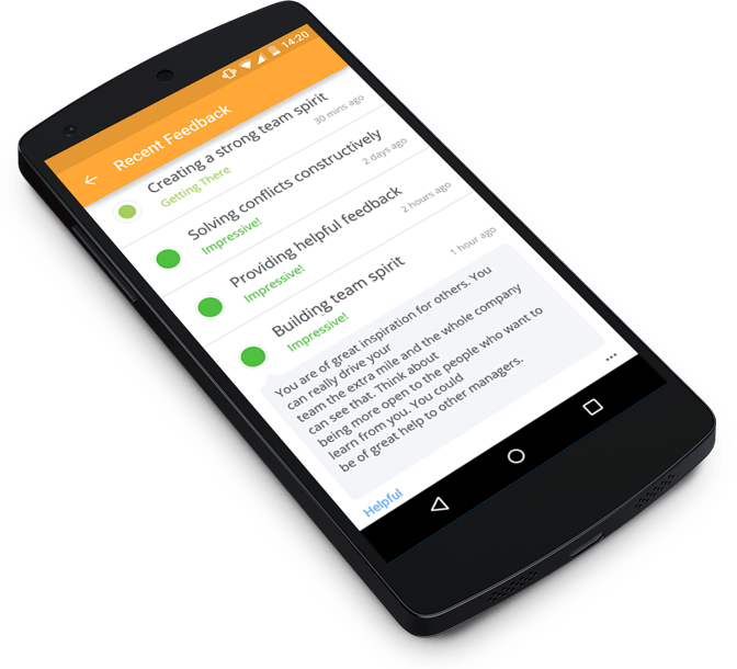 real time employee feedback mobile