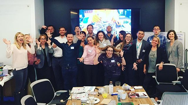 "Check out all these happy faces at the Impraise & BluePoint ""Lead as a Coach"" Workshop in New York 👌🏼A big thank you to Ben, our Events & Marketing Manager, for all the last-minute hard work! #impraise #bluepoint #leadasacoach #leadership #workshop #hrtech #newyork"
