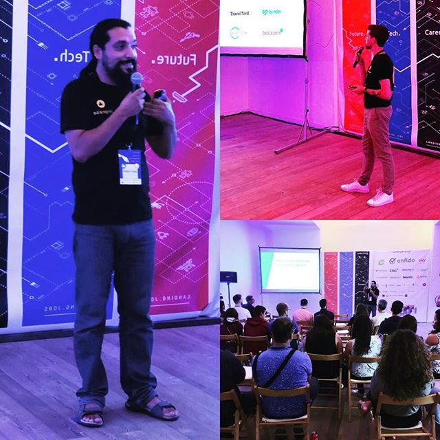 We're really excited to be part of the @landingfestival in Lisbon especially since we will be opening our Lisbon office very soon! Our head of studio & agile coach Juan, and our CTO Filipe talk more about what Impraise is about on the stage. Come visit us at our booth on the 1st floor room 2 to find out about our current vacancies.  #Lisbon #LandingFest #tech #careers #futureofwork #hrevent #ninjacoder #toptalentgrant #techies #womenintech #careersfair #careersummit #hiring #werehiring #impraise