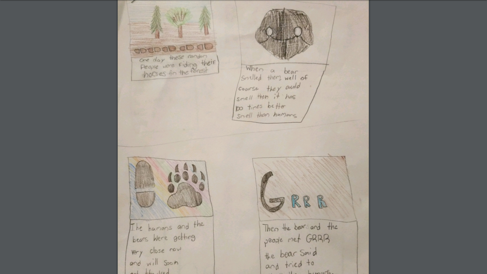 A comic book of Hunter's Chorus