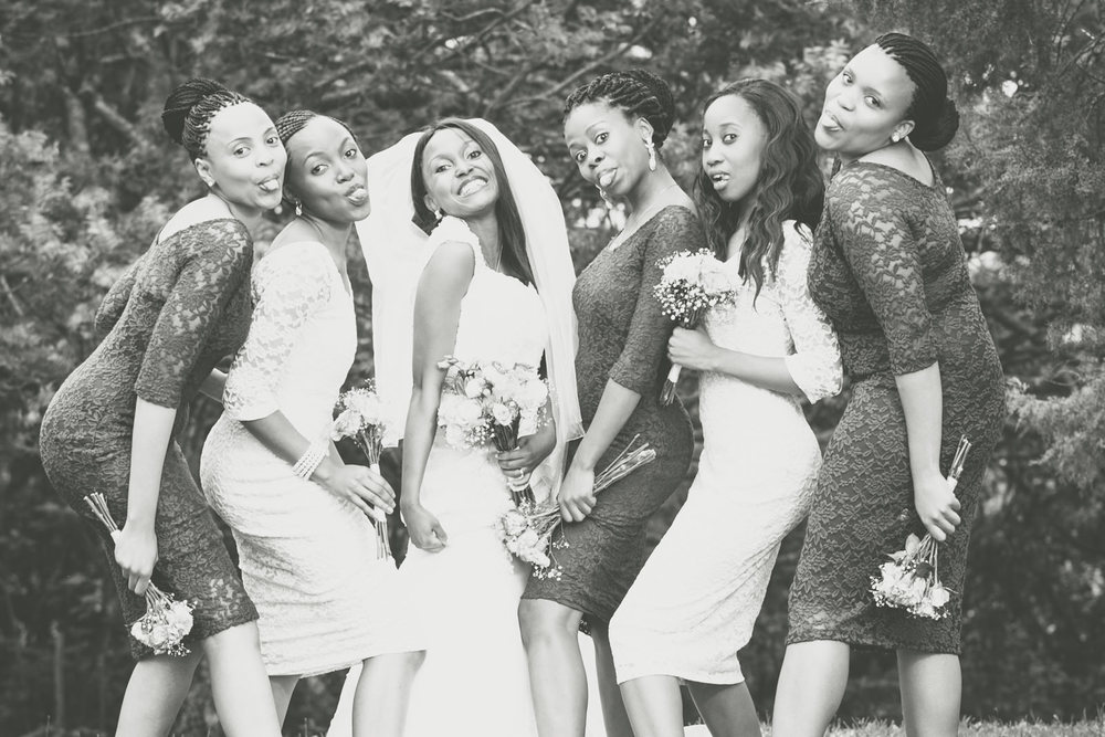 zululand melmoth wedding bridal party african photography