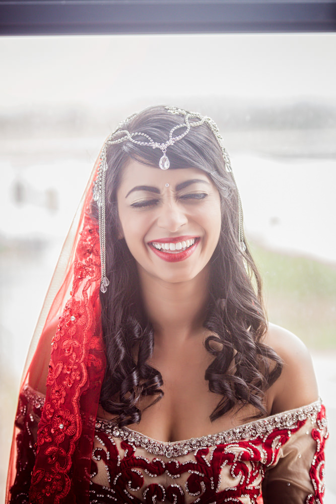 grand manor gardens wedding rbadal photography tongaat indian bride laughing