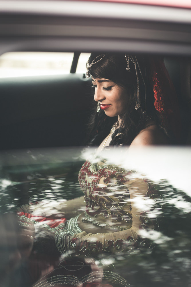 grand manor gardens wedding rbadal photography tongaat indian bride in car